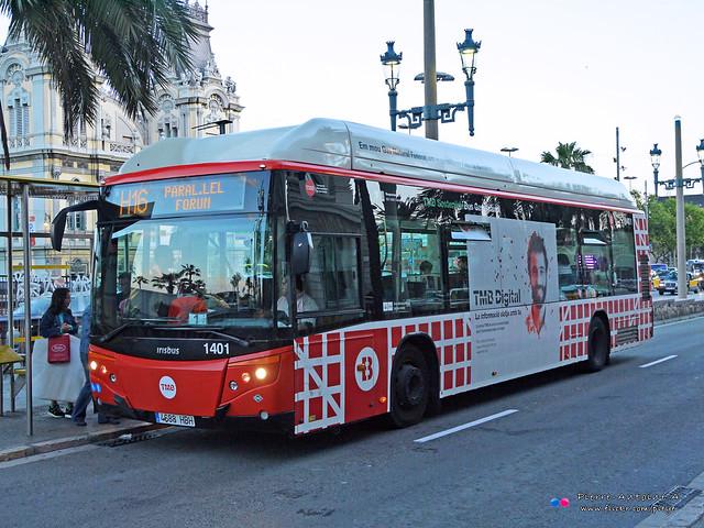 Castrosúa CityVersus (Irisbus Citelis 12) - TMB 1401