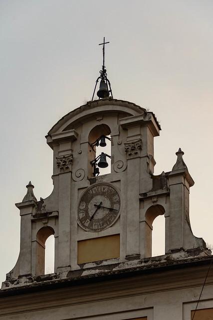 Orologio - Palazzo ospedale del Salvatore, Roma