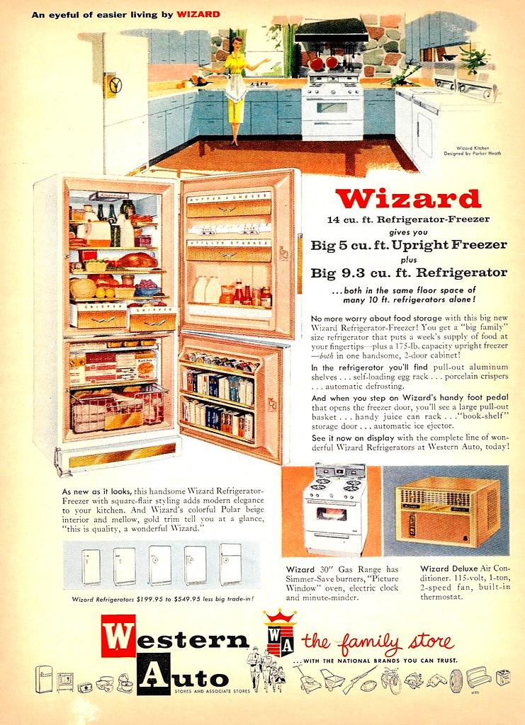 Western Auto, Wizard 1957
