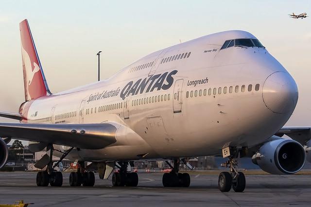 Qantas Boeing B747-438ER VH-OEH SYD-YSSY-9155