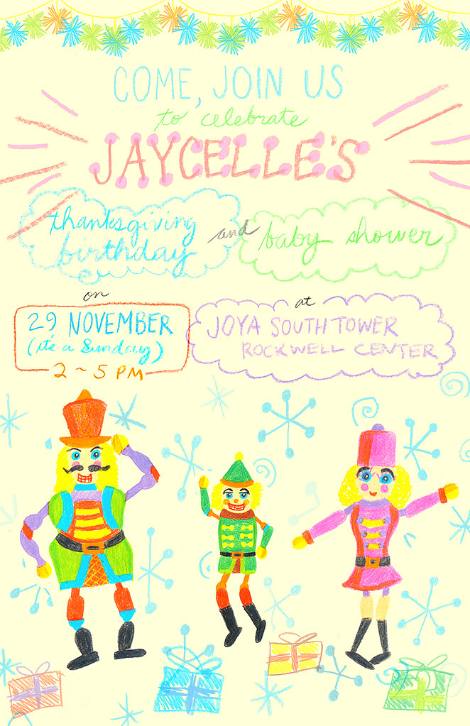2015 - Jaycelle's Birthday Invitation