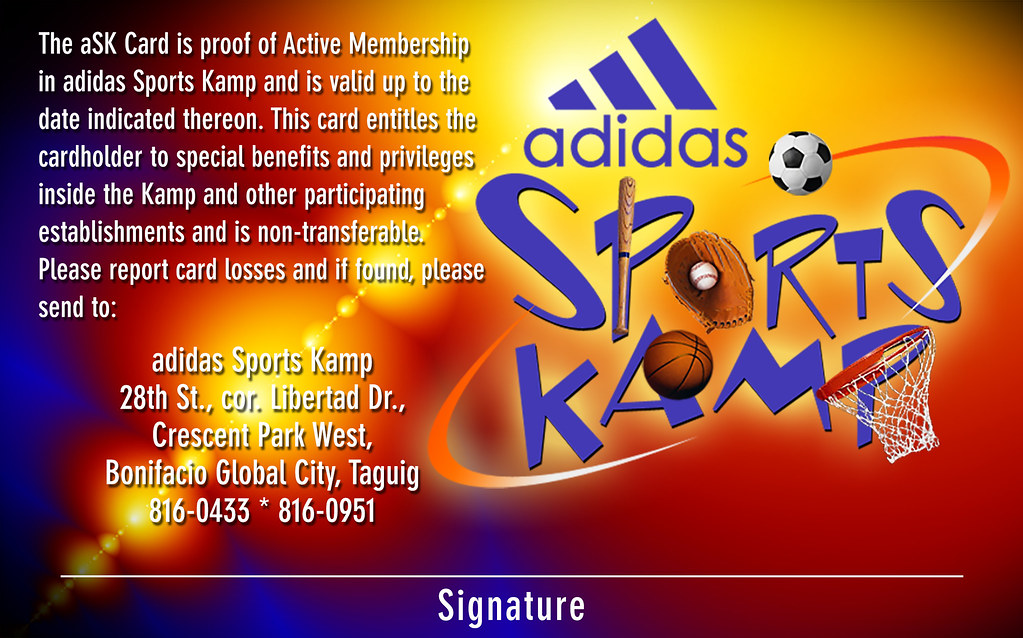 2004-09-15 - Adidas Spors Kamp Teens Card - Back