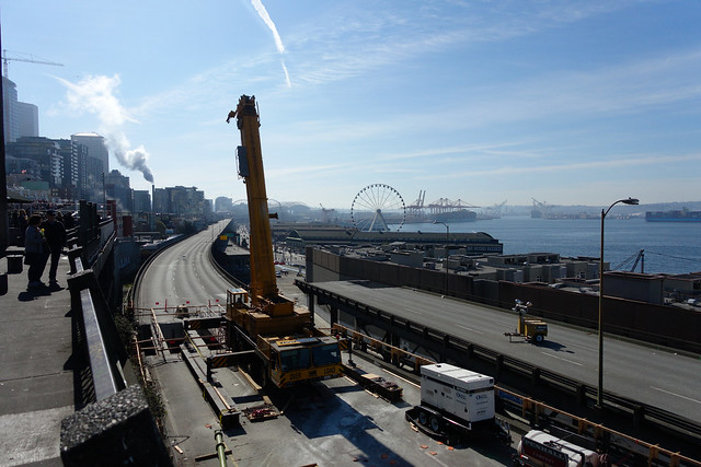 Alaskan Way Viaduct Demo