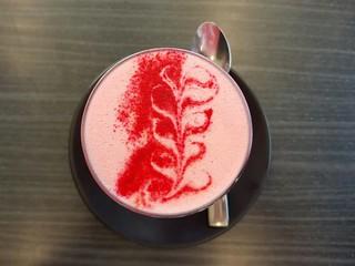 Velvet Latte at Market Organics