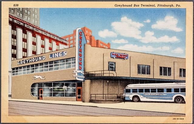 Greyhound Bus Terminal, Pittsburgh, Pa.