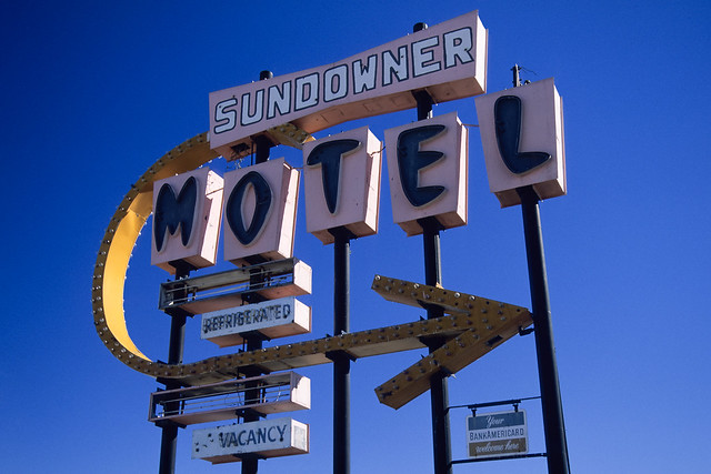 sundowner motel. salton city, ca. 2000.