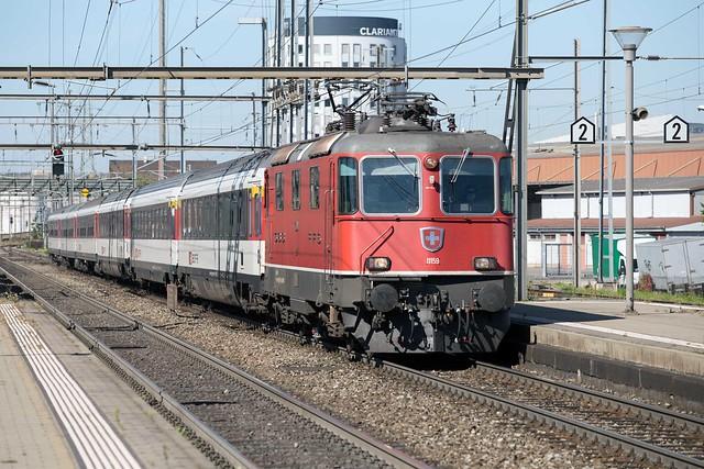 SBB Re 4/4 420 159 Pratteln