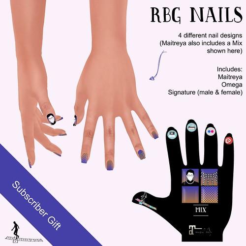 RBG Nails - Subscriber Gift