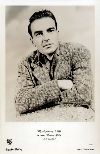 Montgomery Clift in I Confess (1953)