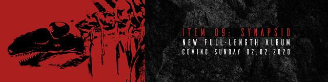 "A Virtual Memory ""Item 09: Synapsid"" - Album Release Promo Banner"
