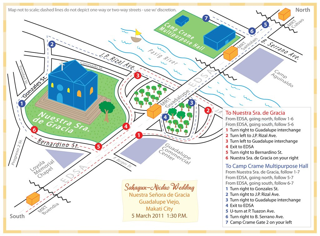 2011-02-26 - Sahagun - Nicdao Wedding Map
