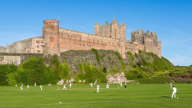 Cricket at Bamburgh