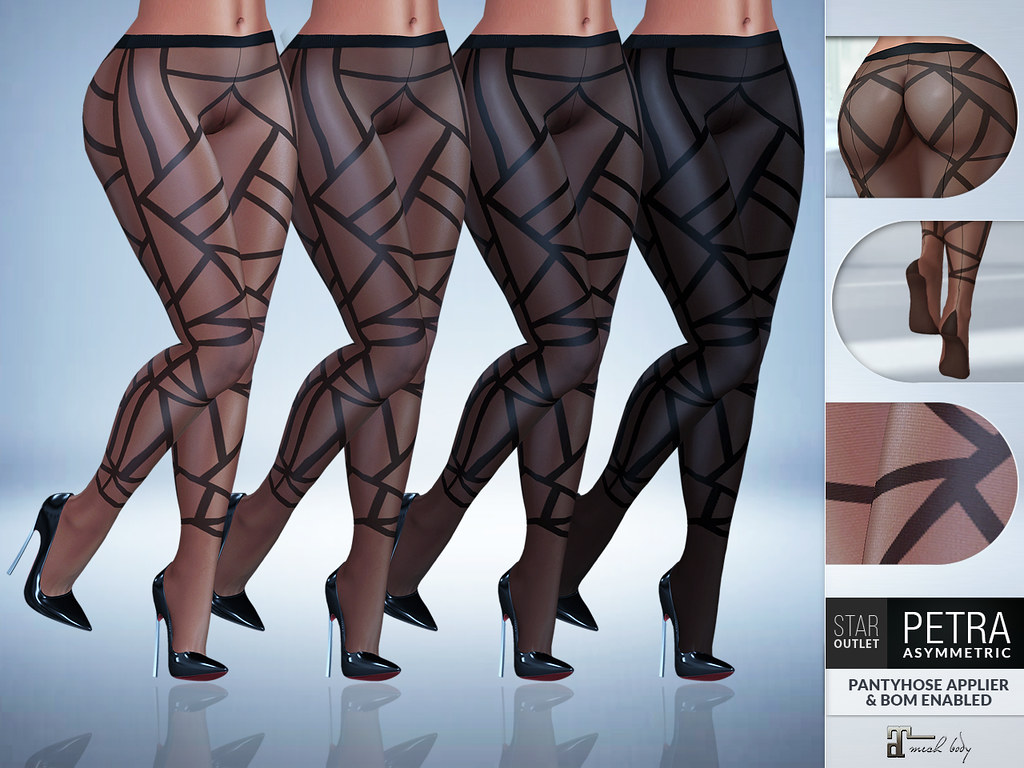 Star Outlet Pantyhose Petra Asymmetric – Maitreya Applier & BoM