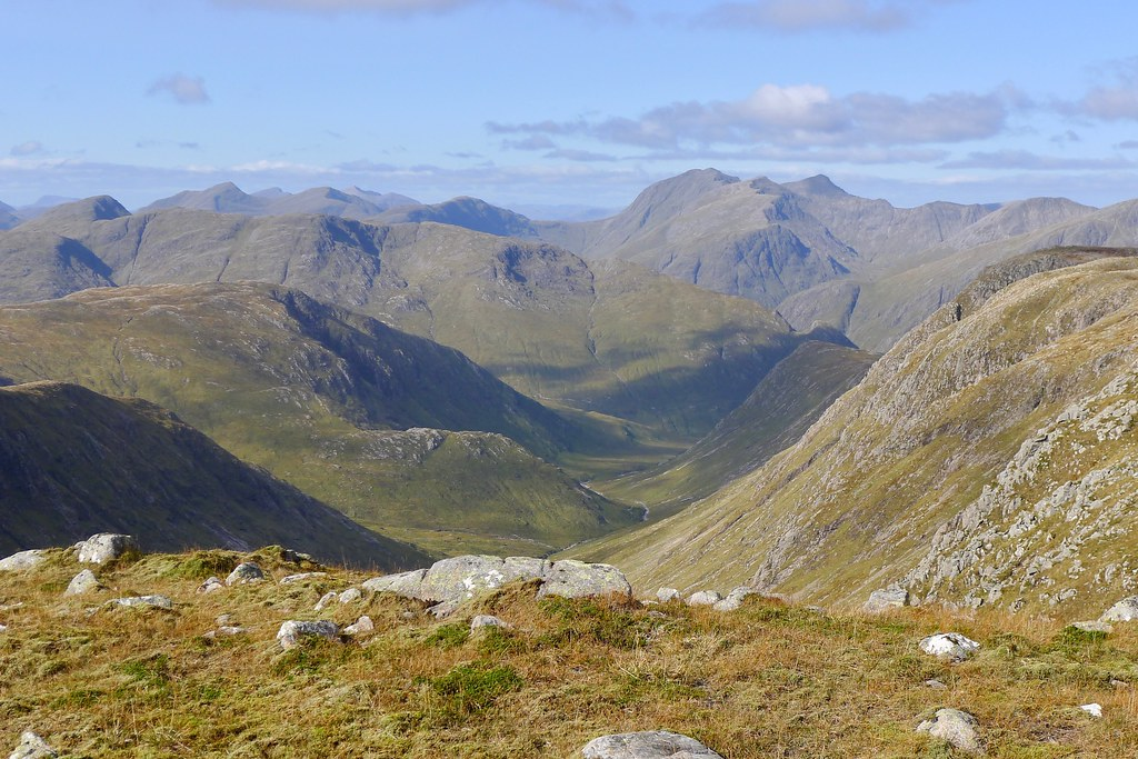 Across Glen Etive to Bidein nam Bian
