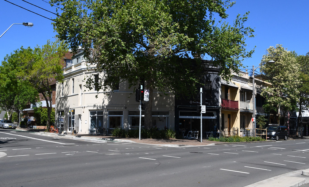 Splayed Corner, Chippendale, Sydney, NSW.
