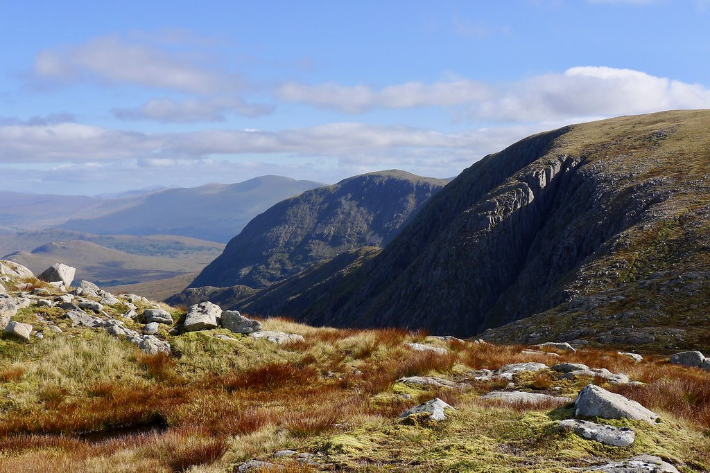 Stob a' Choire Odhair and neighbours