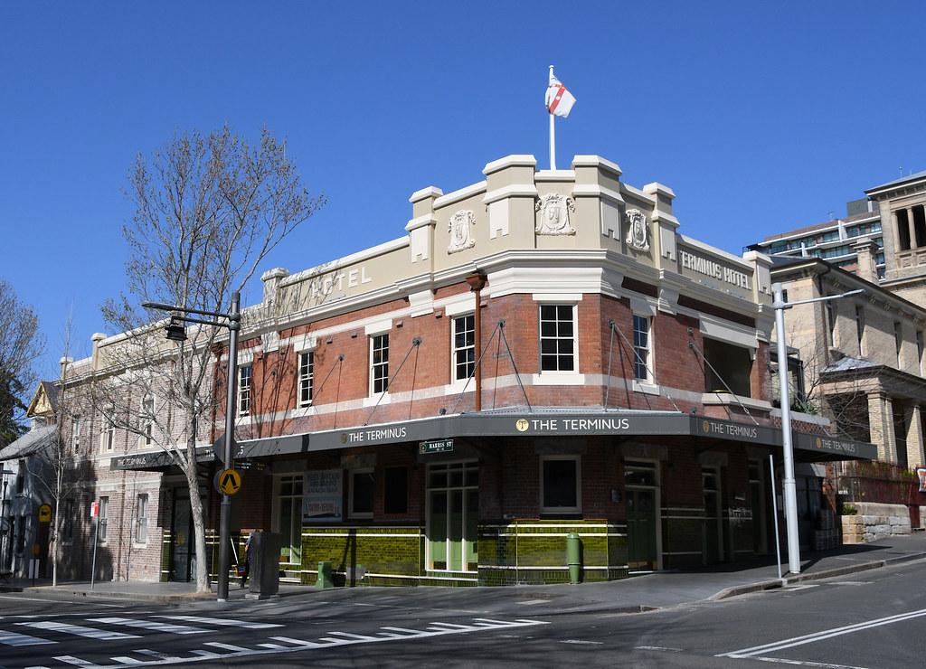 The Terminus Hotel, Pyrmont, Sydney, NSW.