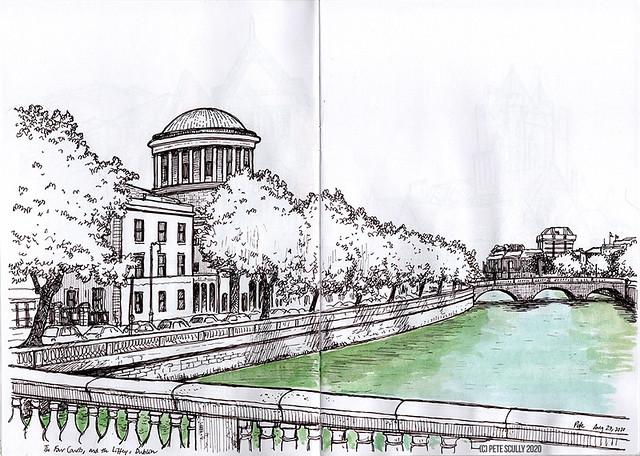 Dublin Four Courts sm