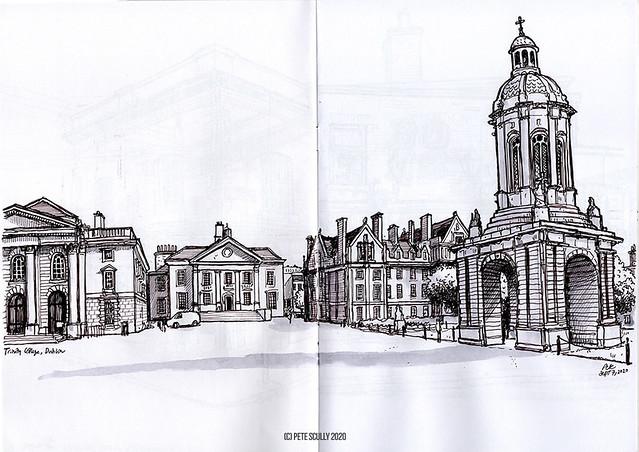 Dublin Trinity College sm
