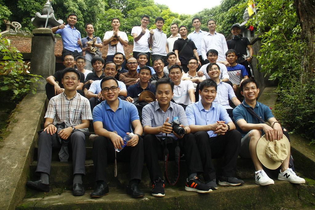 K16 đi thực tế Chùa Hương Tích-HT