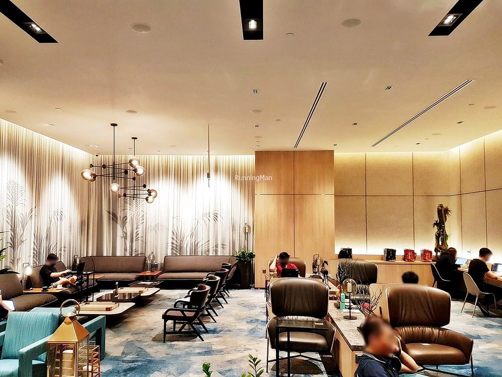 Changi Lounge 04 - Interior