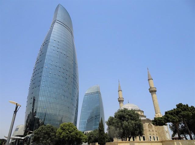 Baku, old and new