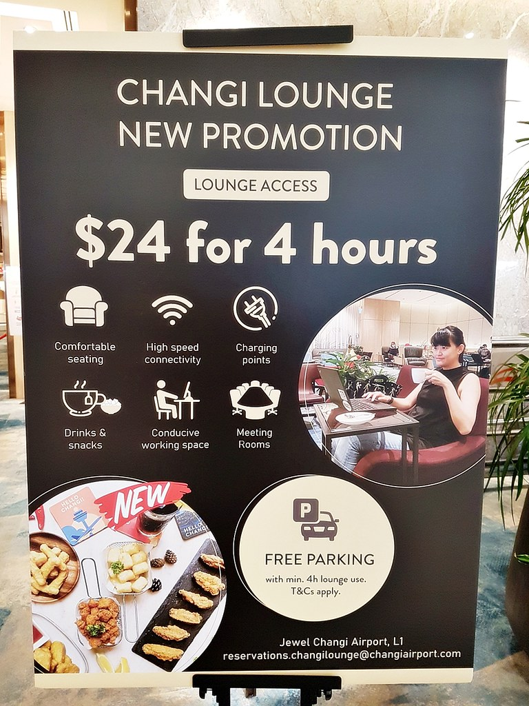 Changi Lounge 06 - Promotion Lounge Access