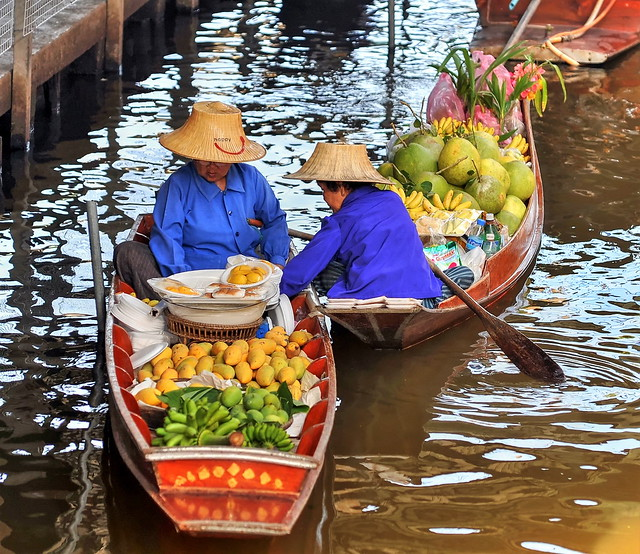 Floating market/BKK