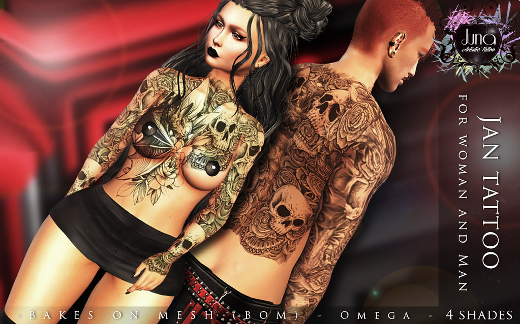 Jan tattoo Unisex