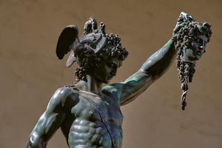 Cellini's Perseus - Florence.