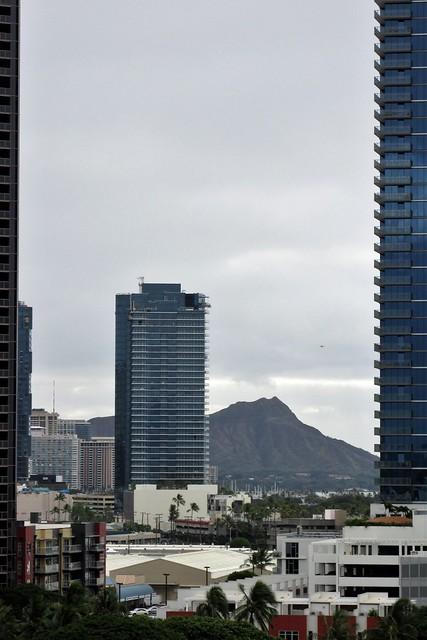 Diamond Head from Honolulu Pier