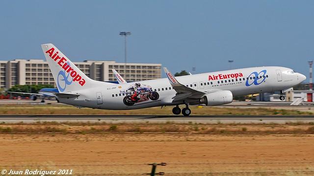 EC-JNF - Air Europa - Boeing 737-85P (WL)