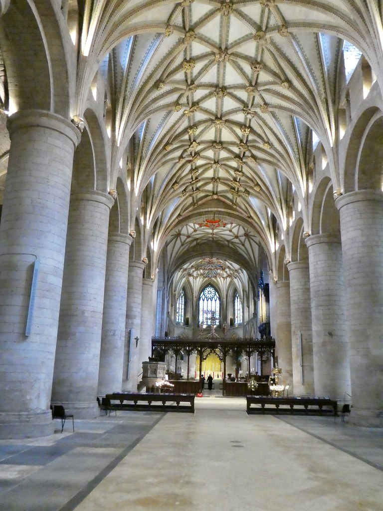The Nave, Tewkesbury Abbey