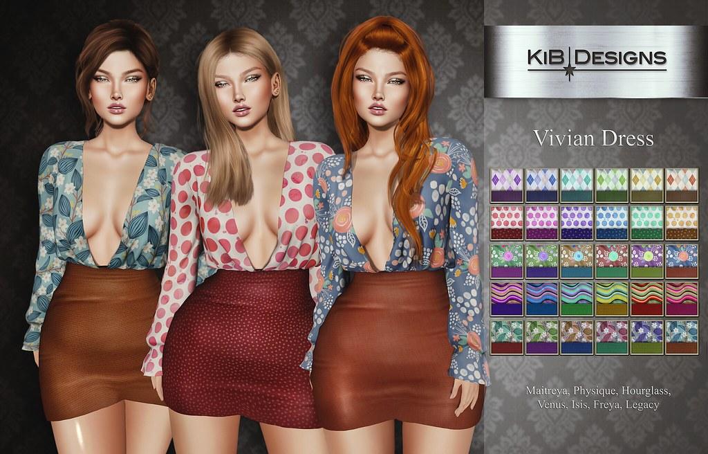 KiB Designs – Vivian Dress @Pretty Event