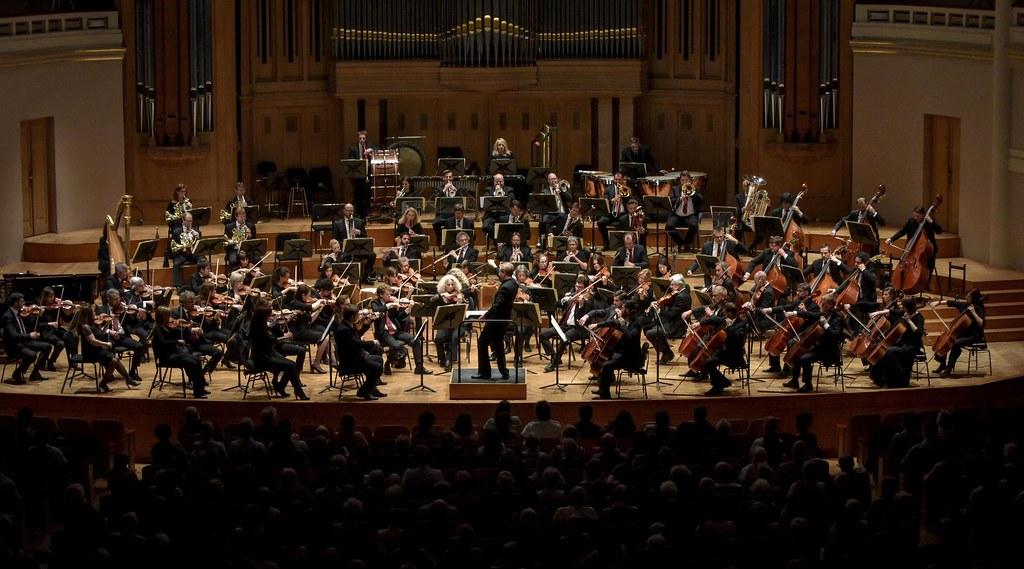 Concierto de la Orquesta Nacional de Bélgica.