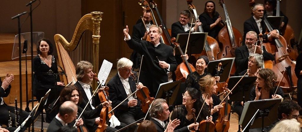 Hugh Wolff, director musical de la Belgian National Orchestra.