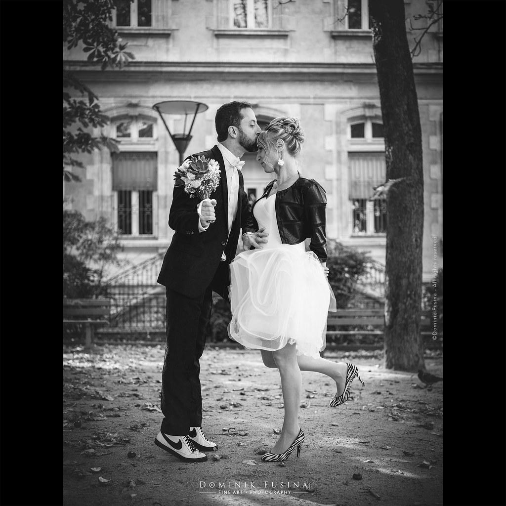 On tiptoes... | wedding Hubert & Alexandrine