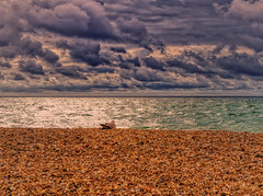 "New Horizons 6 - ""Simples"" - Stones, Sea, Sky and the Seagull"
