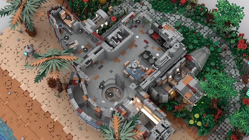 Millennium falcon house