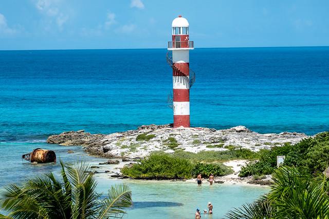 Faro (Lighthouse) at Punta Cancun