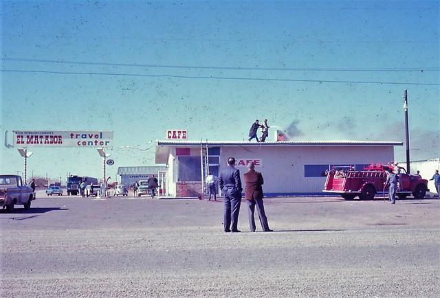 1967 Matador, Texas Fire
