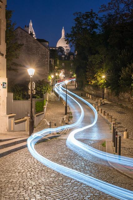 Montmartre at blue hour