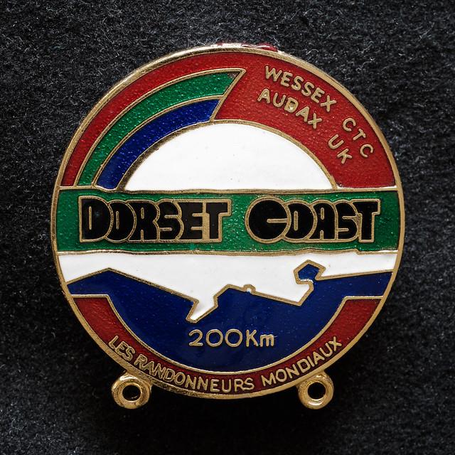 Souvenir from 2002 Dorset Coast 200km Randonée