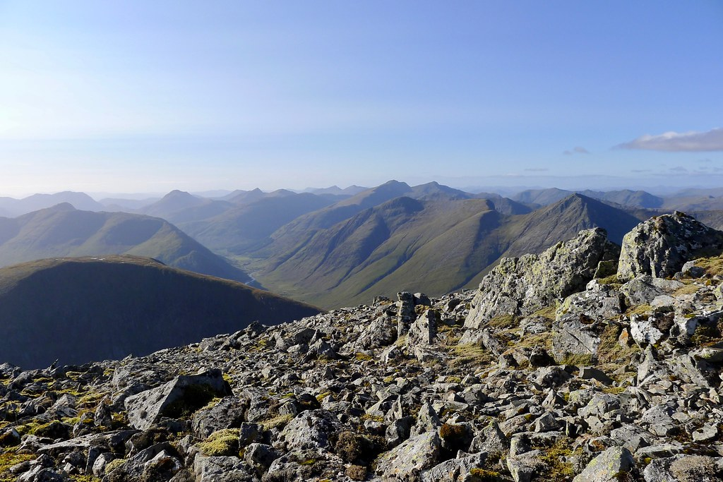 Glen Etive from Creise