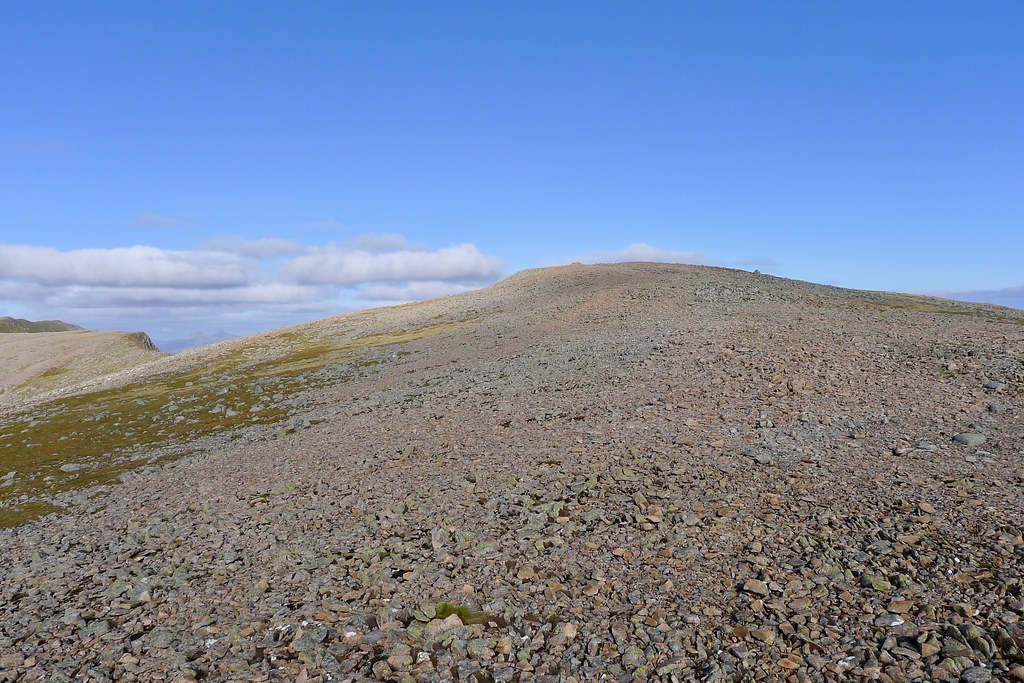 Summit of Clach Leathad