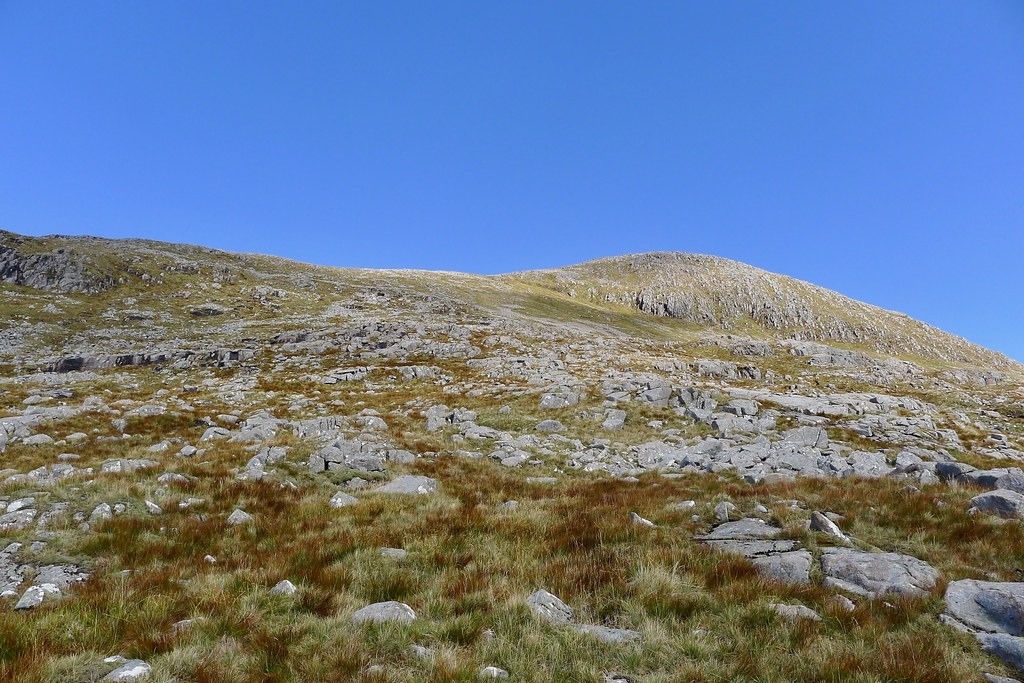 Ascent of Clach Leathad
