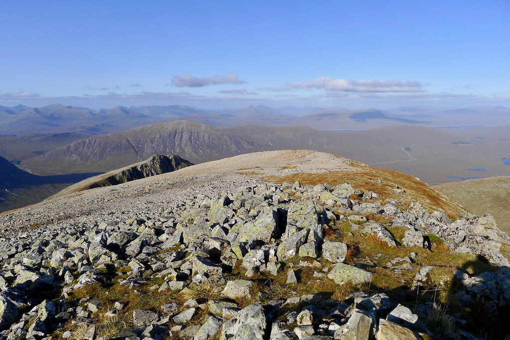 Towards the Easains and Creag Meagaidh