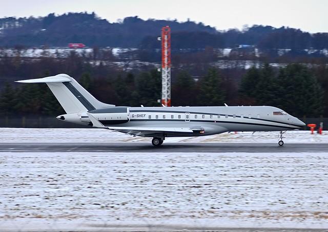 G-SHEF Bombardier Global Express