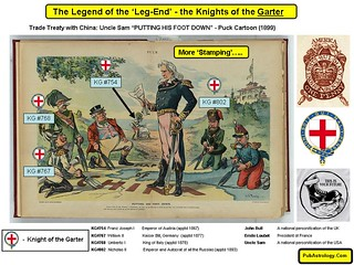 Legend of the Leg End - the Takeover of China by the Knights of the Garter | by arthur.strathearn