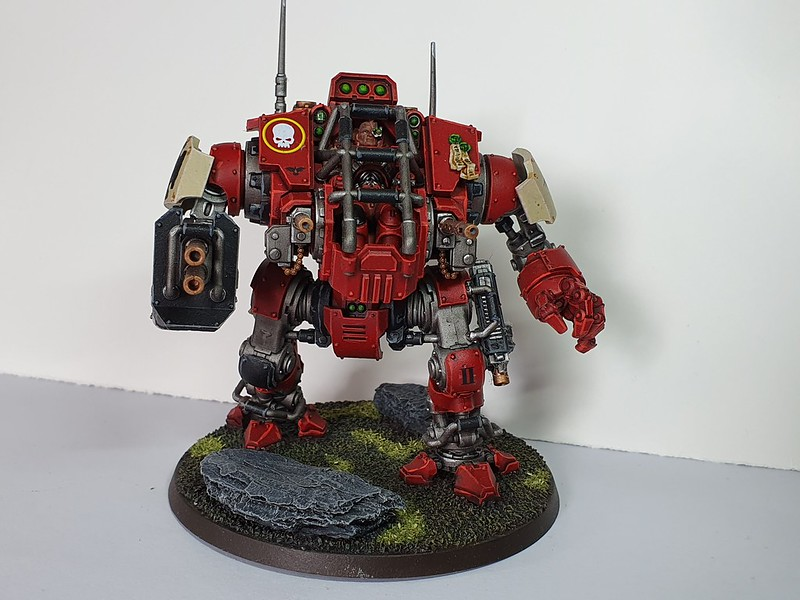 Blood Raven Primaris Invictor Tactical Warsuit